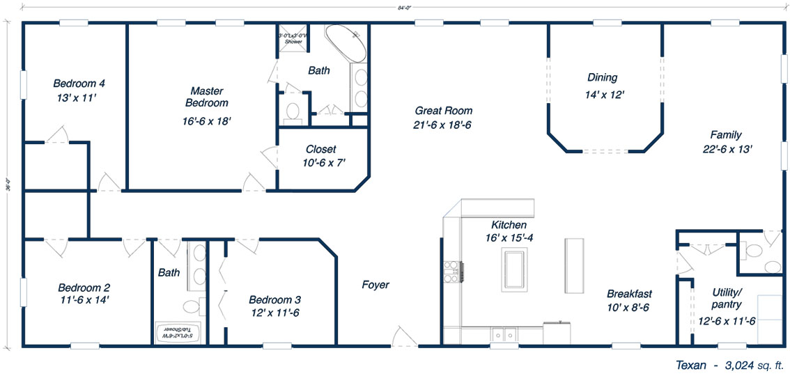 Metal Building Home Floor Plans