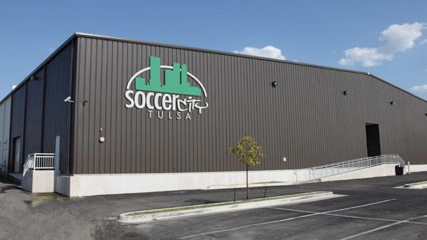 Soccer City Metal Building
