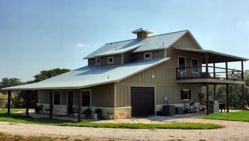 Barndominium homes is this the year of bandominiums for Two story metal building homes