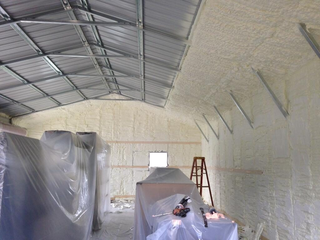 Metal Building Insulation 101 How To Choose The Right
