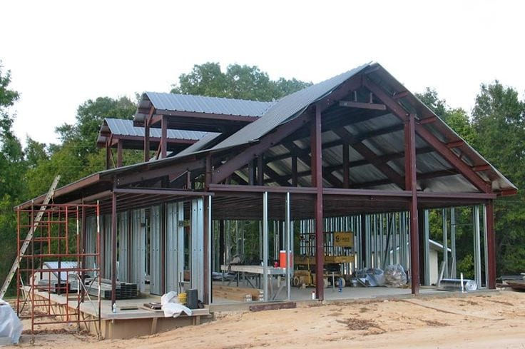 Kodiak steel homes prices for Steel frame home plans