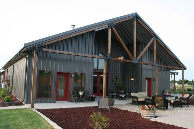 Mueller Buildings Custom Metal Steel Frame Homes