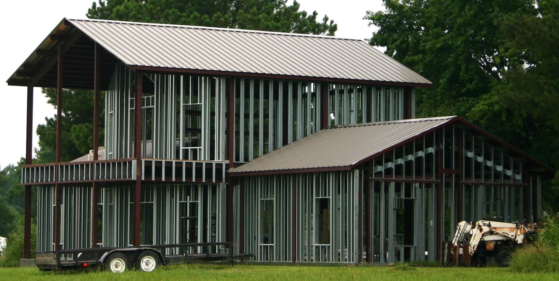 Are outback steel buildings worth the cost metal for Cost building house