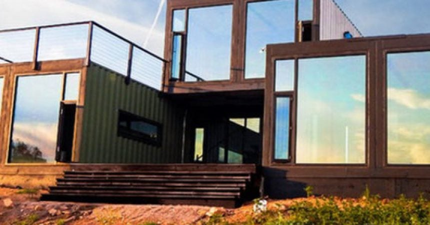 How much do shipping container homes cost metal for Cost to build a house in texas