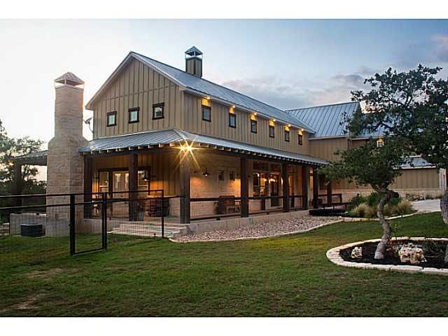What are pole barn homes how can i build one metal for Cost to build a house in texas