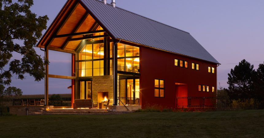 What are pole barn homes how can i build one for Steel building house pictures
