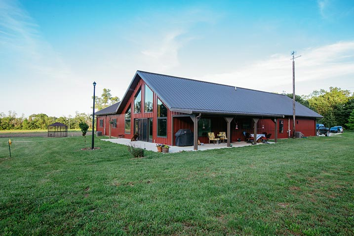 How much are general steel buildings for Metal barn home kits