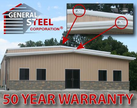 General Steel Warranty