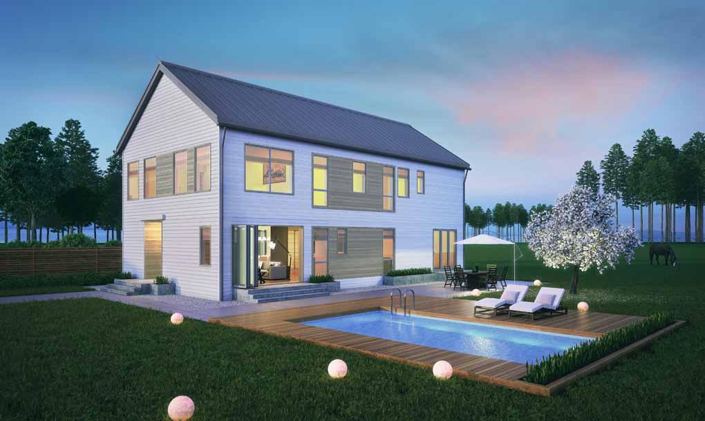 Blu Homes Modern Farmhouse
