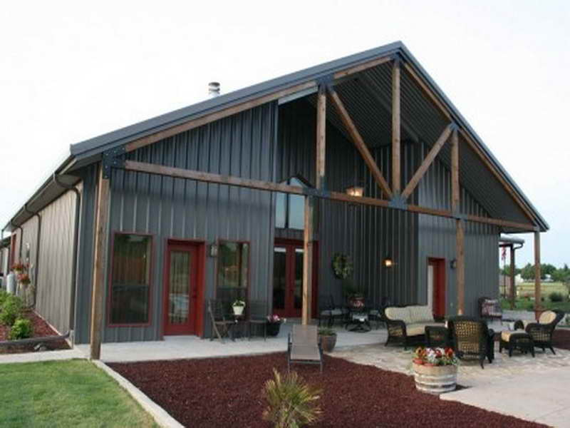 Metal building prices how to price your metal building for Steel barn homes