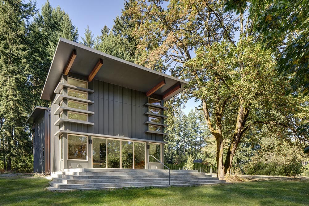 Oregon Prefab Metal Homes by StillWater Dwellings
