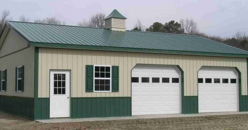 Pole barn garage kits 101 metal building homes for How to build a metal house