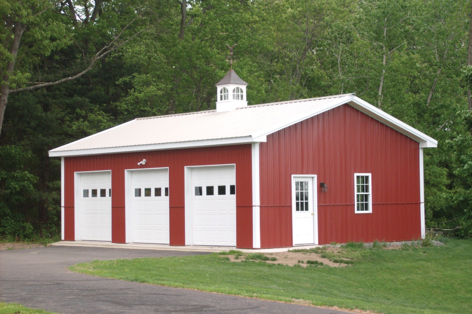 Pole barn garage kits 101 for How to build pole barn house