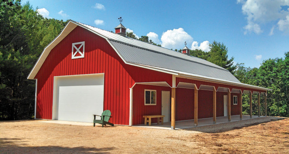 Wd metal buildings 39 barndominium 39 barn home review for Cost to build a house in iowa