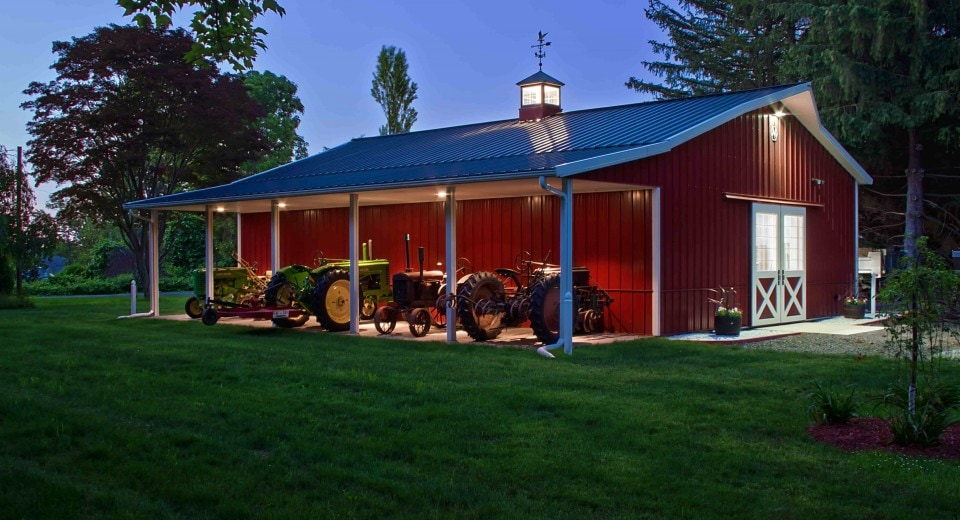 Pole barn homes joy studio design gallery best design Cost of building a house in pa