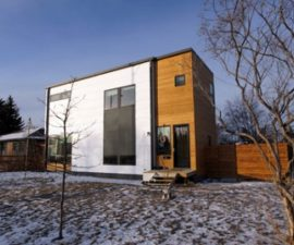 Grand designs shipping container home by patrick bradley for Hive container homes