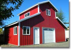 Hansen pole buildings kits prices review metal for Monitor barn kit