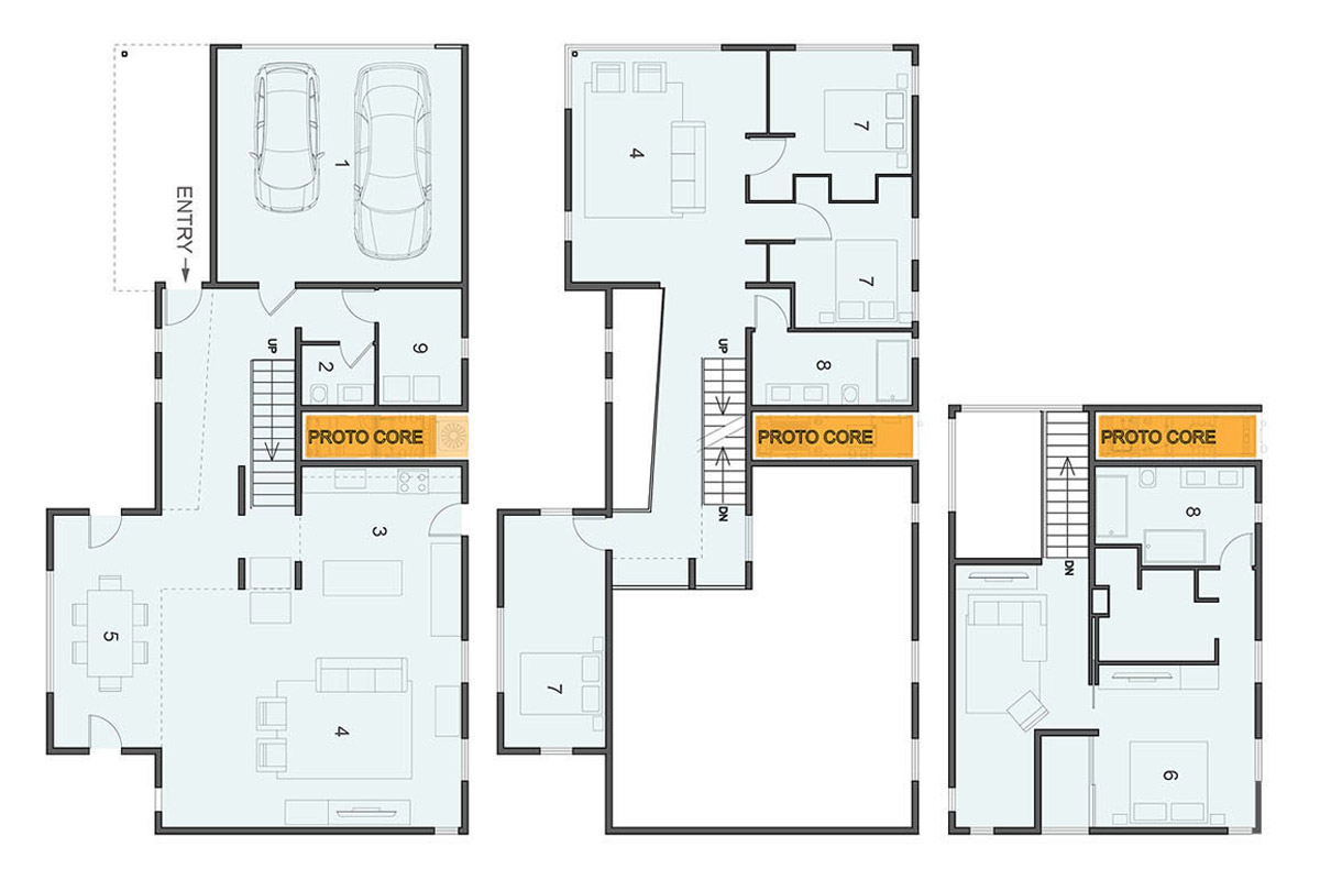 the proto type home of the future proto homes floor plans