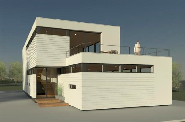 stackable prefab homes