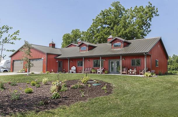 lester buildings custom metal barns builder
