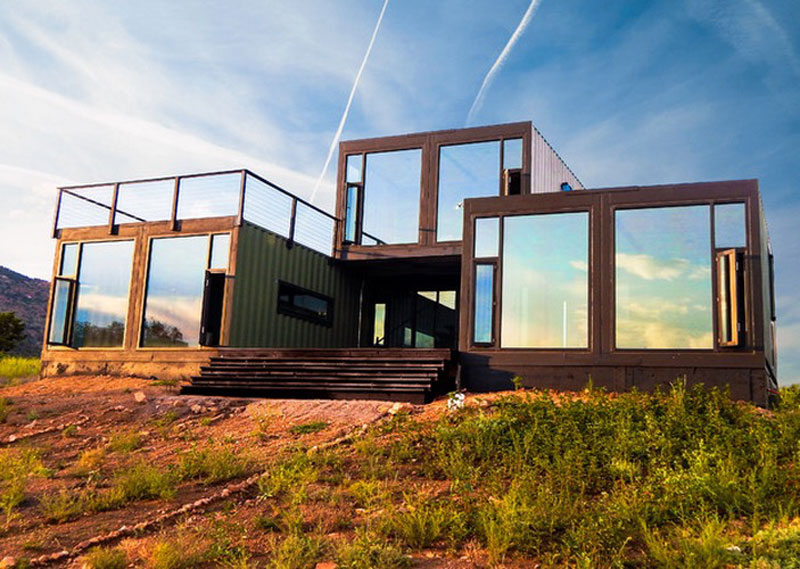 How much do shipping container homes cost for How much would building a house cost