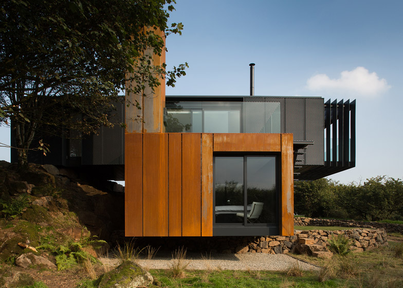 patrick beverly shipping container home