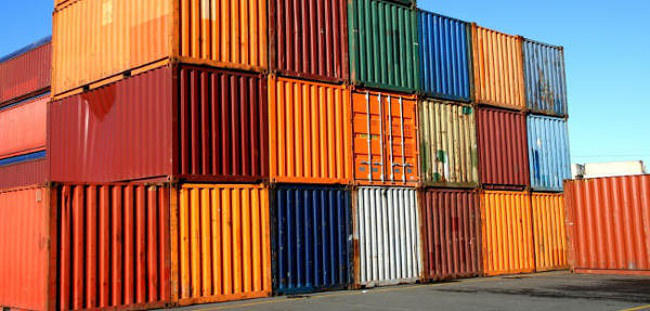 used shipping container price
