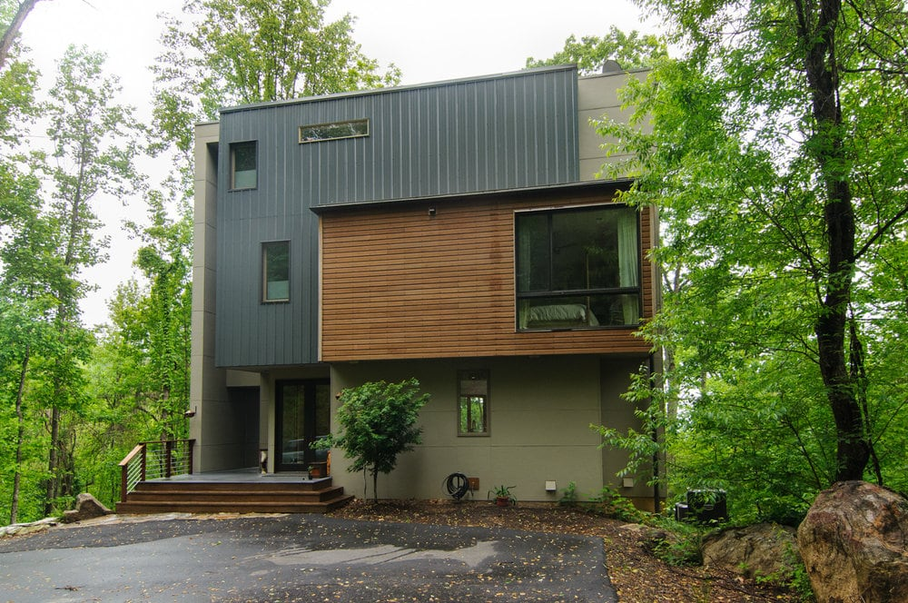 Residential metal homes steel building house kits online for Modern house construction