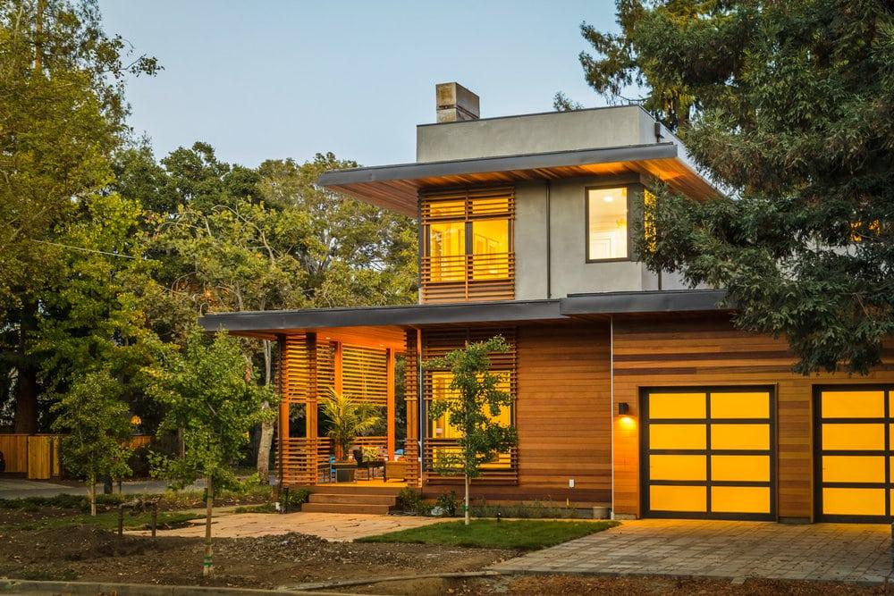 clever homes by toby long design prefab evolved metal. Black Bedroom Furniture Sets. Home Design Ideas