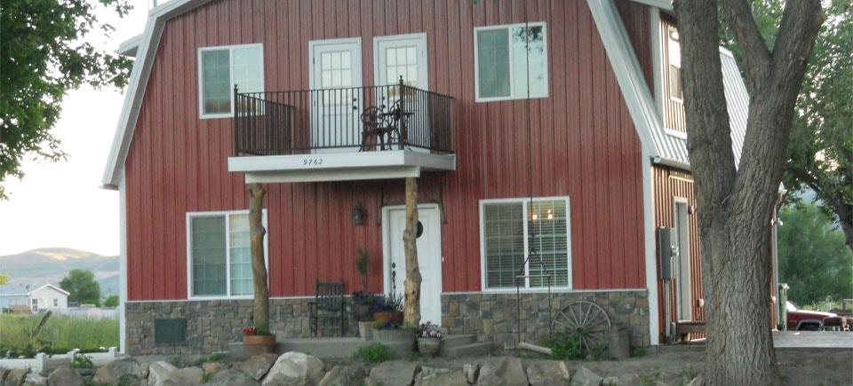 IronTown Homes Barn