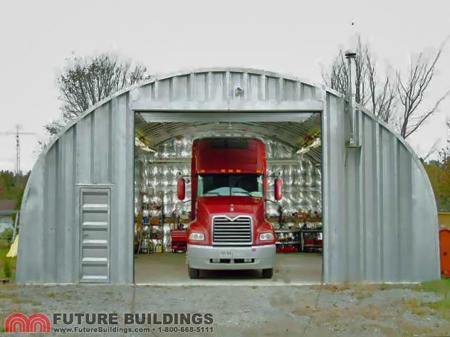 Steel Truck Garage
