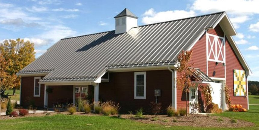 Residential metal homes steel building house kits online for Residential pole barn homes