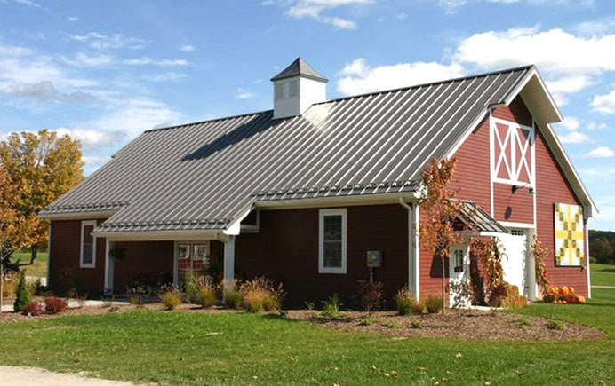 What are pole barn homes how can i build one metal for Price builders