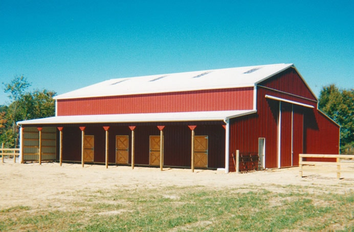 Equistrian buildings