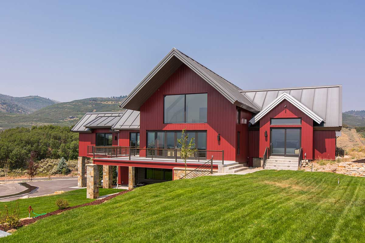 Ecosteel modern steel frame homes guide for Barn home builders