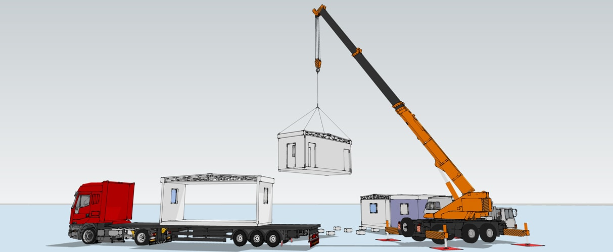Modular Buildings Transportation