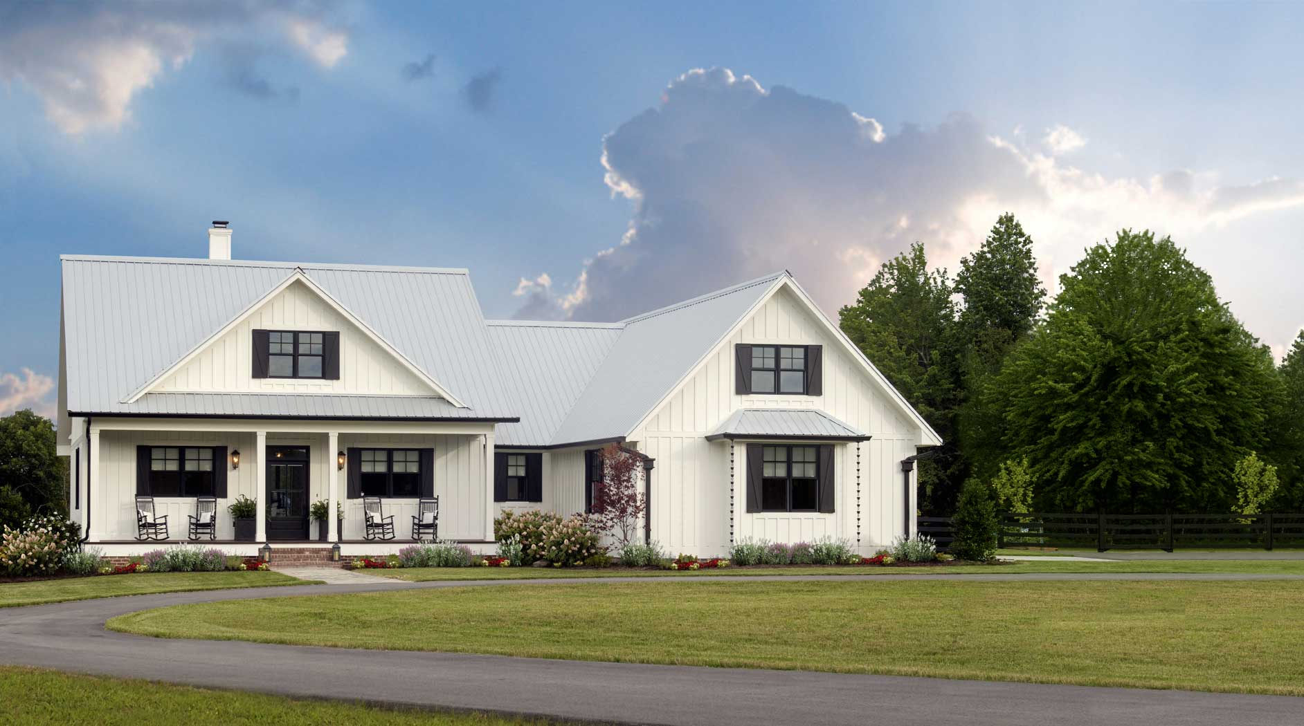Modern Farmhouse Floor Plans, Kits & Architects ...