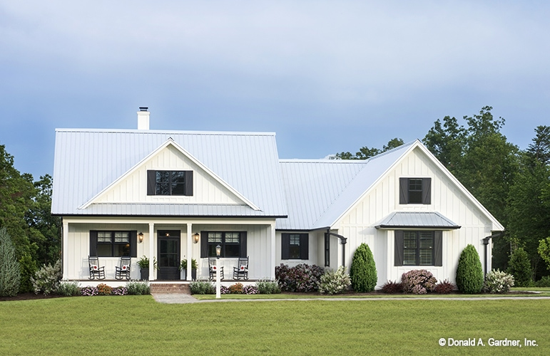 Modern Farmhouse Floor Plans Architects Metalbuildinghomes Org