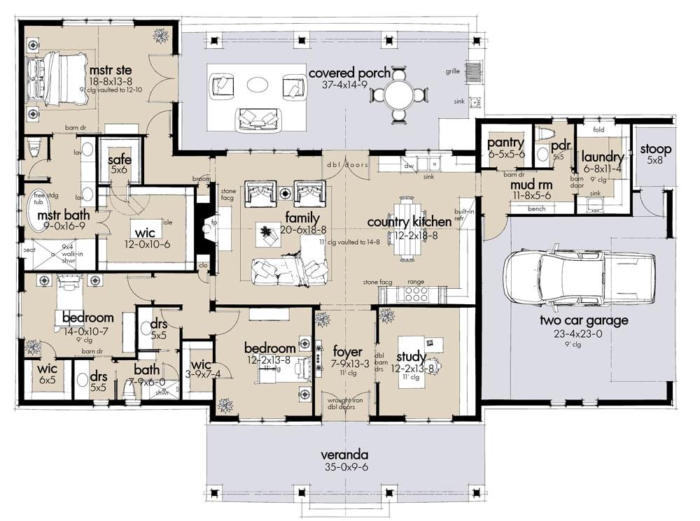 Dos Riatas Floor Plan