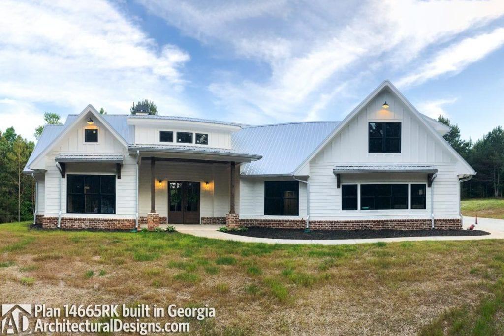 georgia modern farmhouse plan
