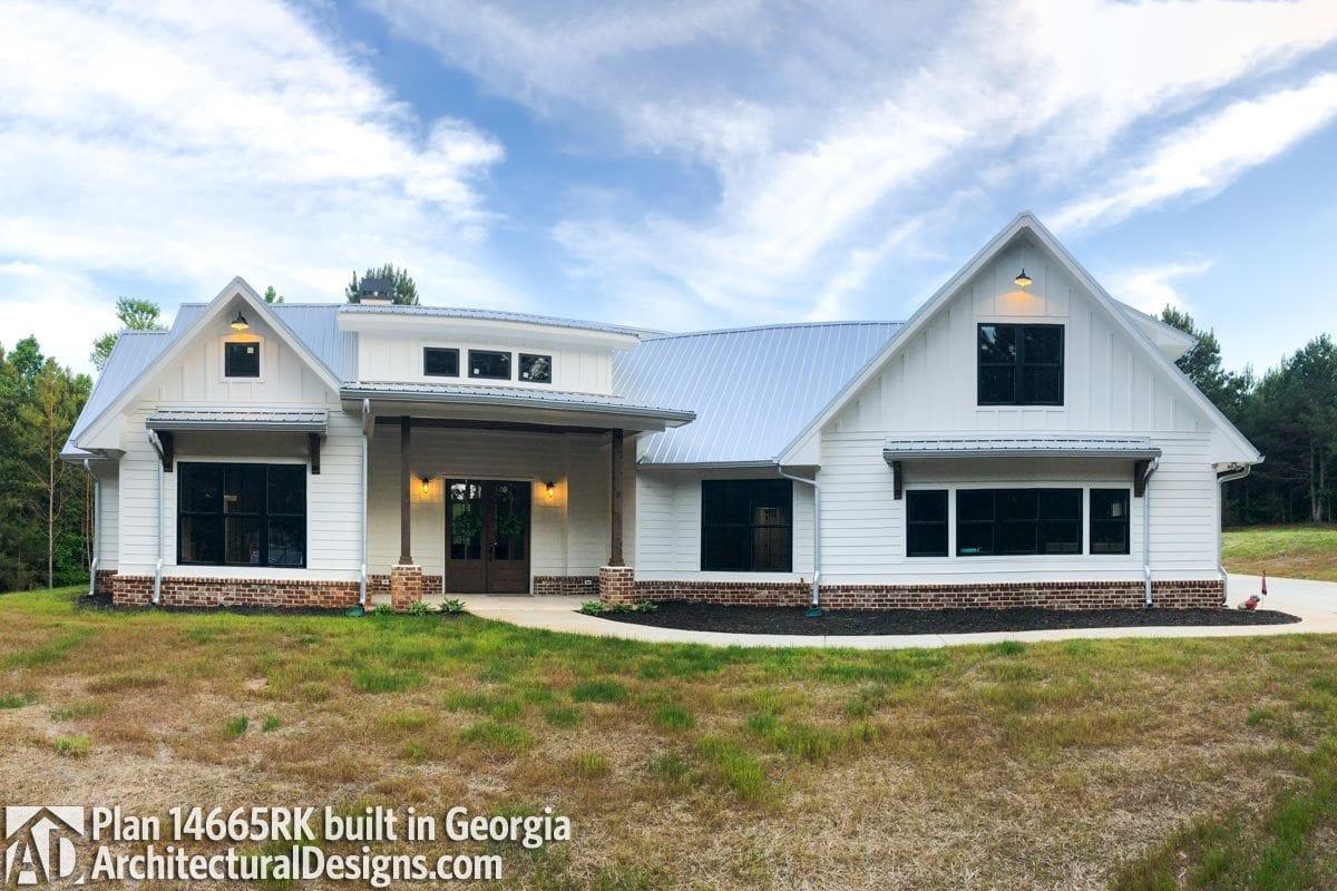 Modern Farmhouse Floor Plans Architects Metalbuildinghomes Org