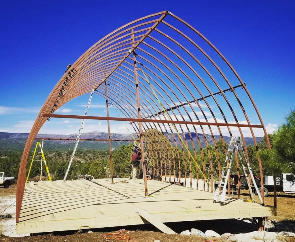 Arched Cabins Floor Plans Amp Prices Metal Prefab Cabins
