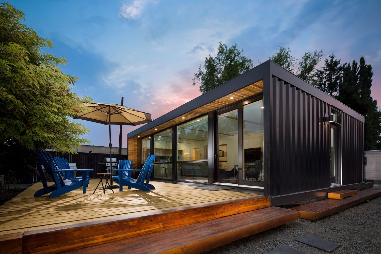 Honomobo Modern Steel Frame & Shipping Container Homes