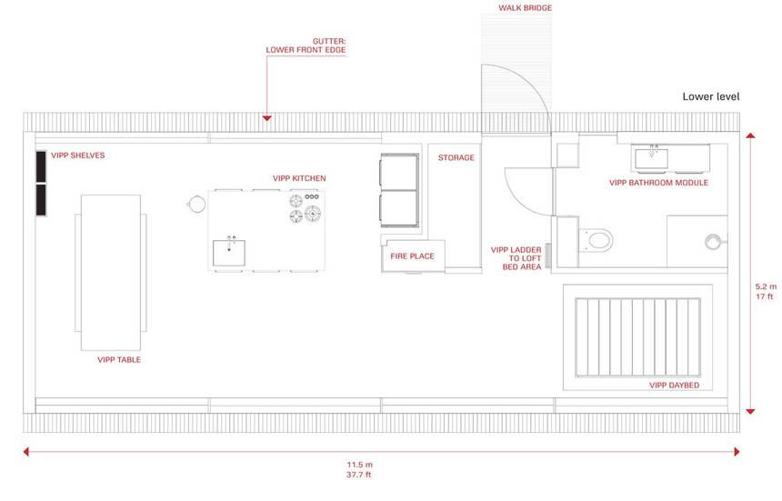 VIPP Floor Plan