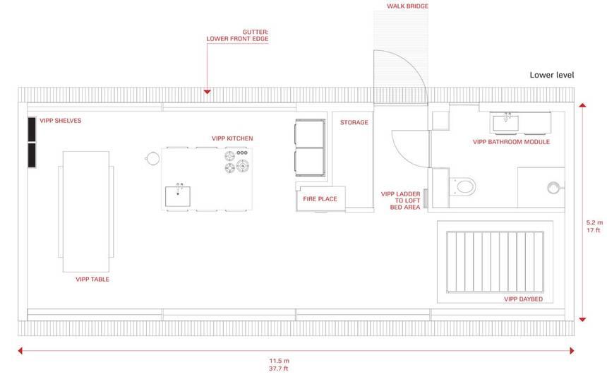 VIPP Floor Plan