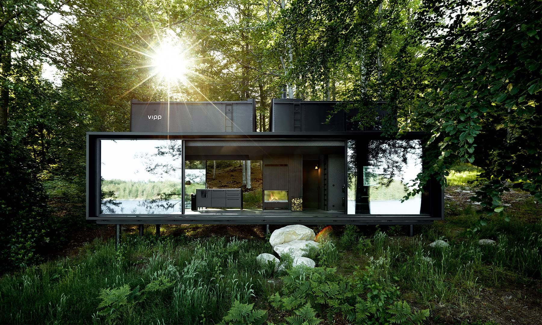 The Vipp Shelter Tiny Prefab