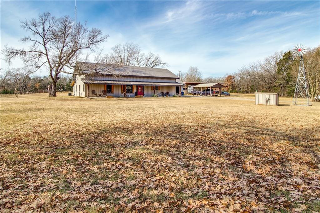 ravenna texas metal house for sale