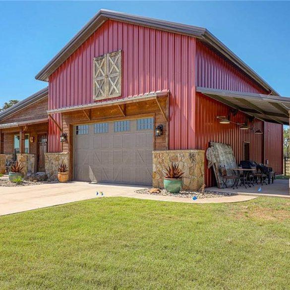 Palo Pinto Texas Barndominium House For Sale