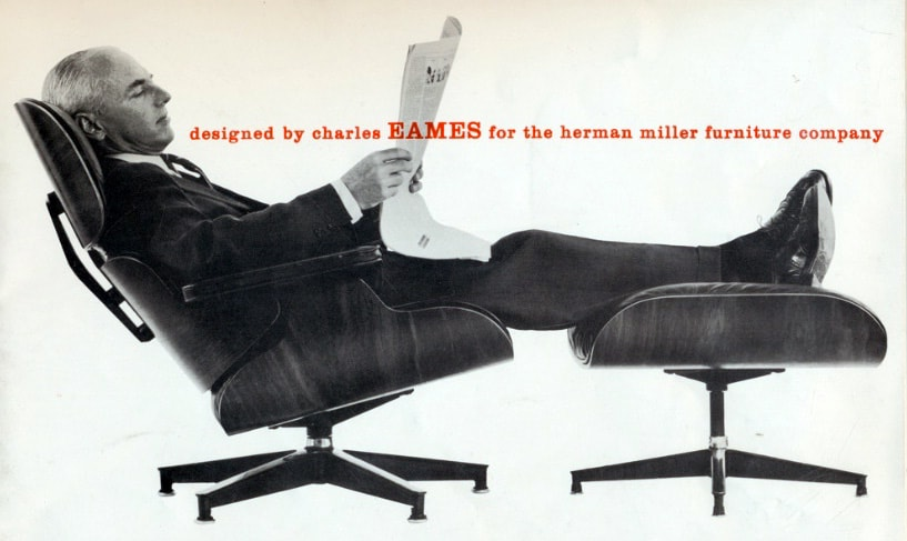 Herman Miller Eames Chair Ad