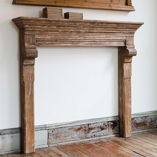 Reclaimed Fireplace Mantel